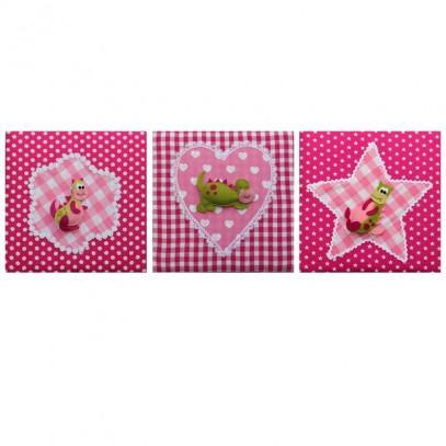 roze draakje