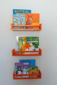 boekenplanken kinderkamer