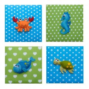 Theme kinderkamer zeedieren